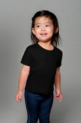 Toddler Fine Interlock Short Sleeve Tee
