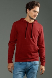 ECO-HYBRID Unisex 3-End French Terry Pullover Hoodie