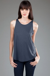 ECO-HYBRID Micro Jersey High Neck Tank