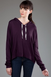 ECO-HYBRID Micro Jersey Pullover Hoodie